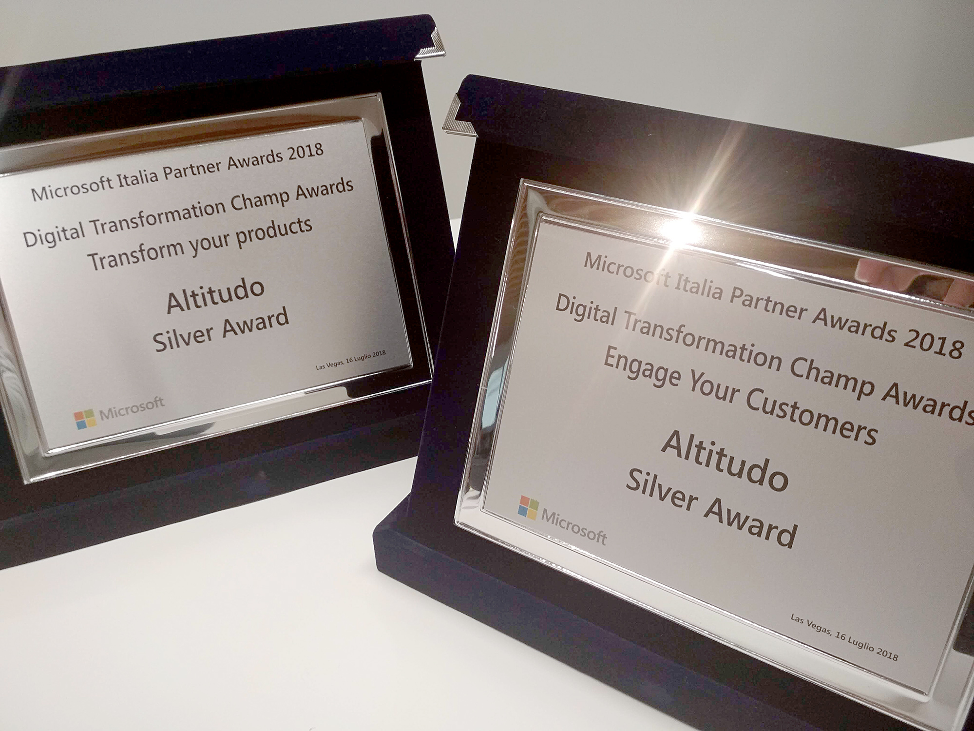 altitudo grabs two awards at msinspire
